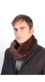 Marten fur neck warmer - unisex