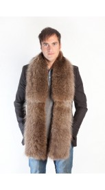 Raccoon fur stole - scarf