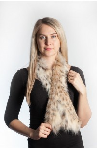 Lynx fur scarf - Belly