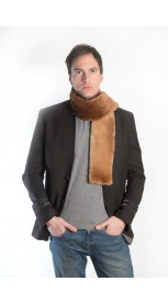 Beaver fur scarf - long