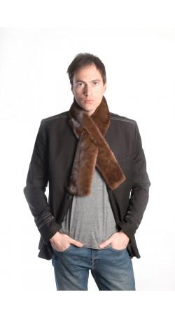 Mink fur scarf - unisex