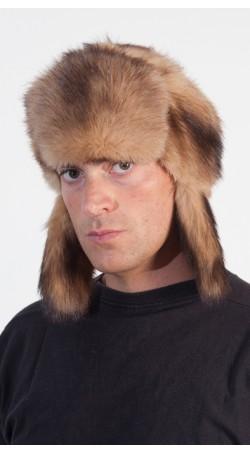 Polecat fur hat - Russian Style