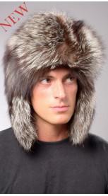 Men s Fur Hats  Russian Fox   Mink Fur Hat  907411447f5