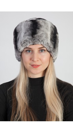 Rex-Chinchilla fur hat
