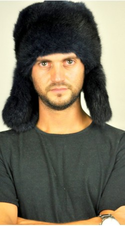 Possum fur hat - ushanka