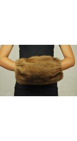 Hand Muff - mink fur