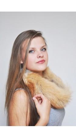 Golden fox headband