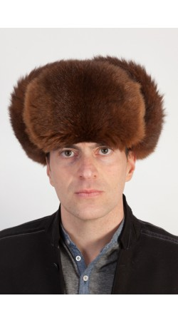 Possum fur hat - Russian style hat