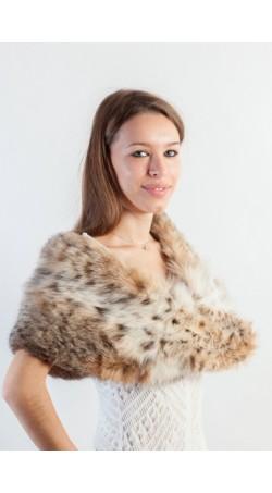 Lynx fur stole