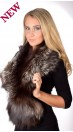 Silver Fox Fur Collar