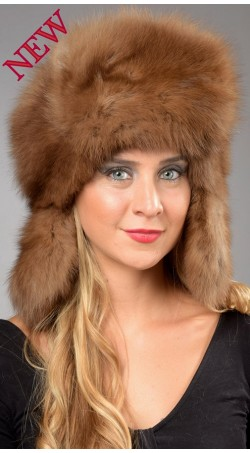 Sable fur hat - Russian style