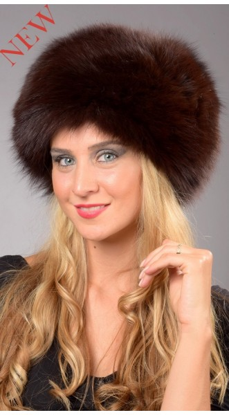 fox fur hats