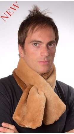 Beaver Fur Scarf, Double Sided Fur