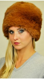 Brown possum fur hat