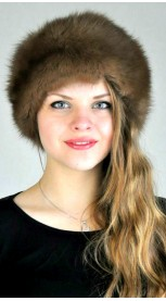 Sable fur hat