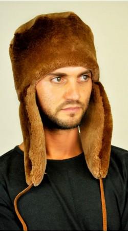 Beaver fur hat ushanka