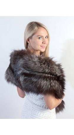 real fur shawls